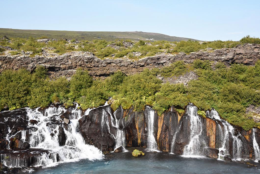Hraunfossar Islande