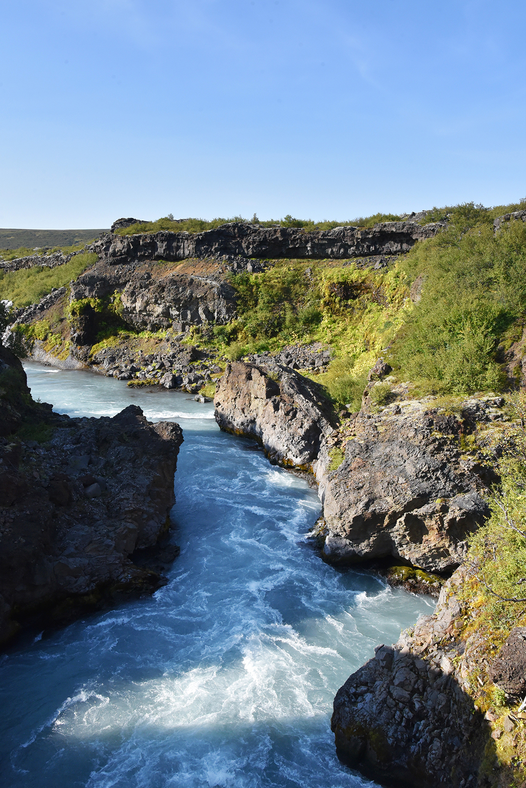 Hraunfossar Road trip Islande