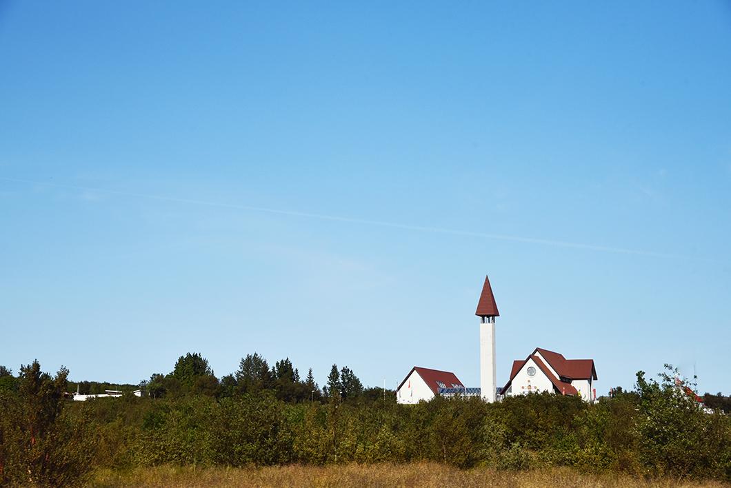 Eglise Reykholt Islande