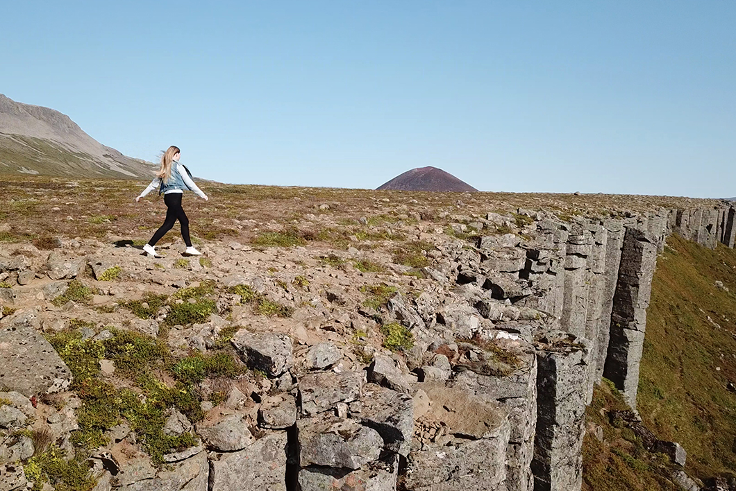 Gerðuberg Cliffs Islande