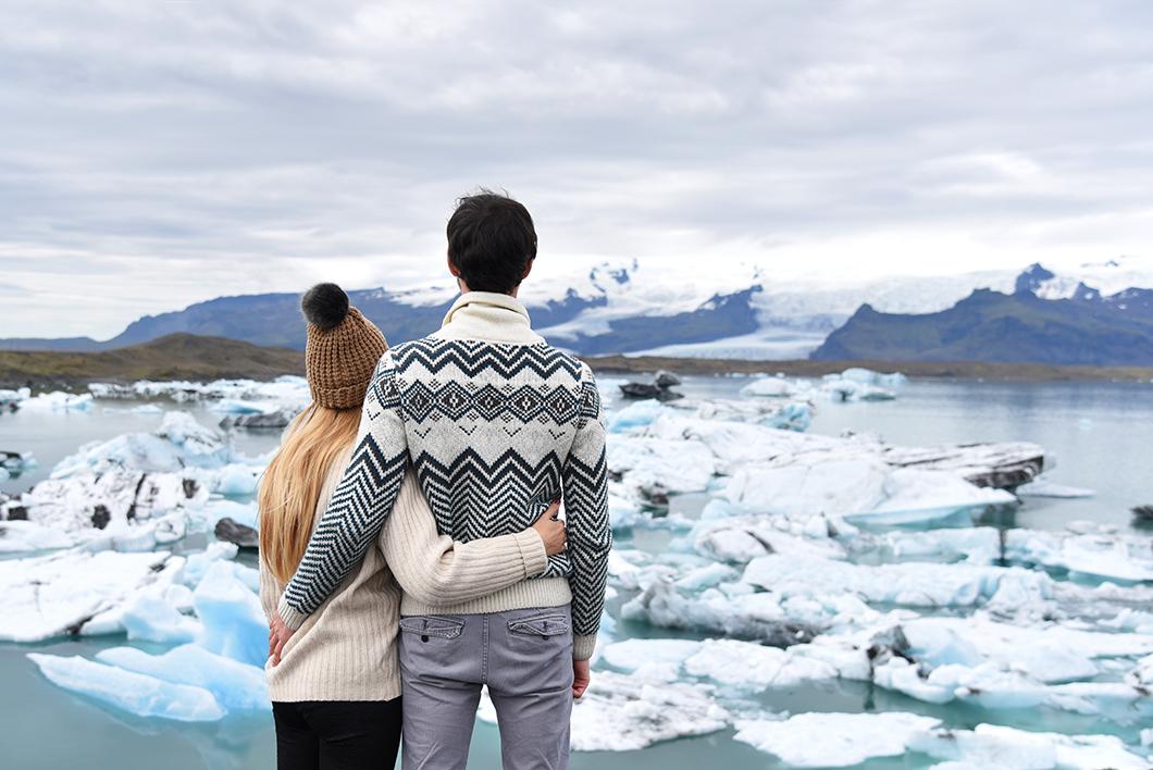 Jökulsárlón - Glacier en Islande