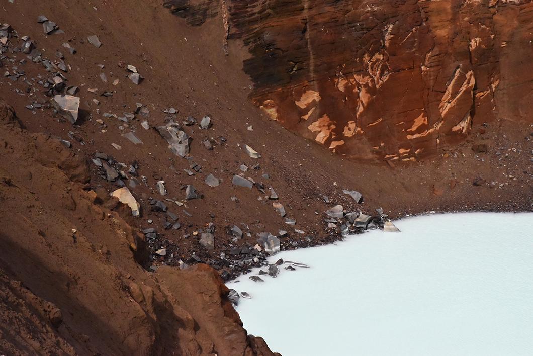 Randonnée à Askja en Islande
