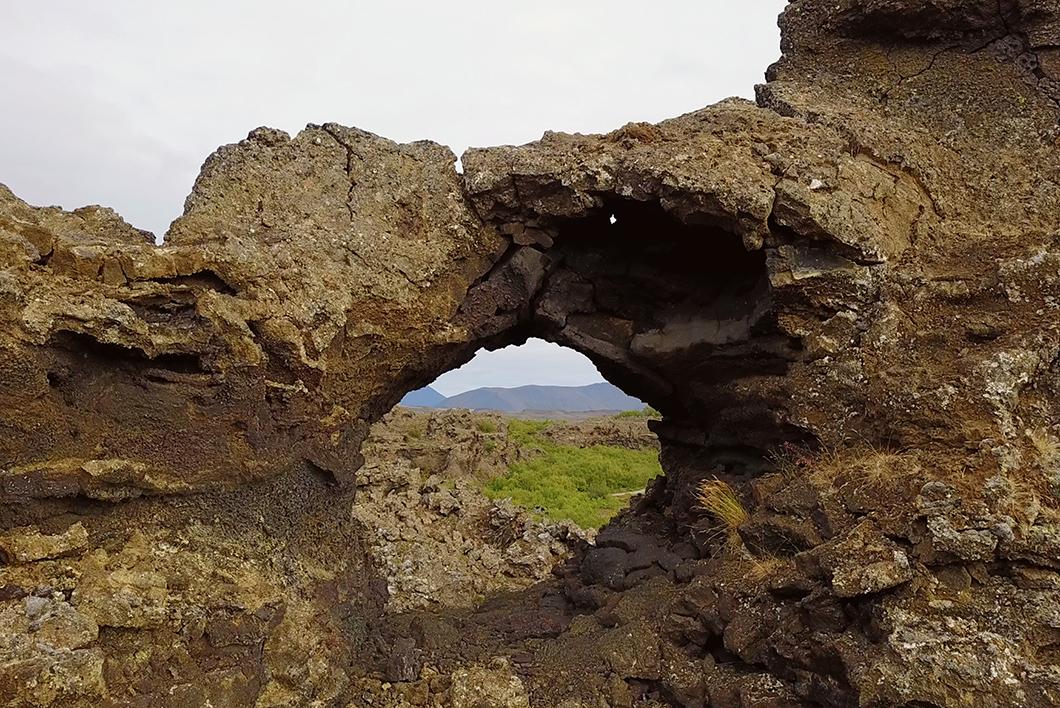 Dimmuborgir Myvatn