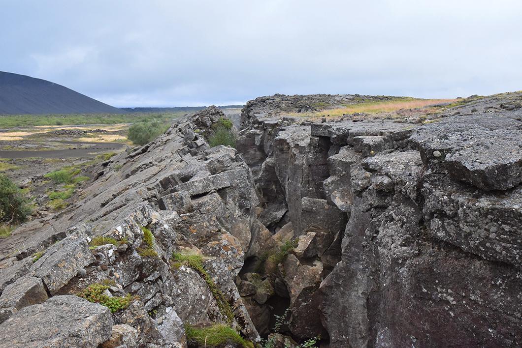 Grjótagjá cave Myvatn