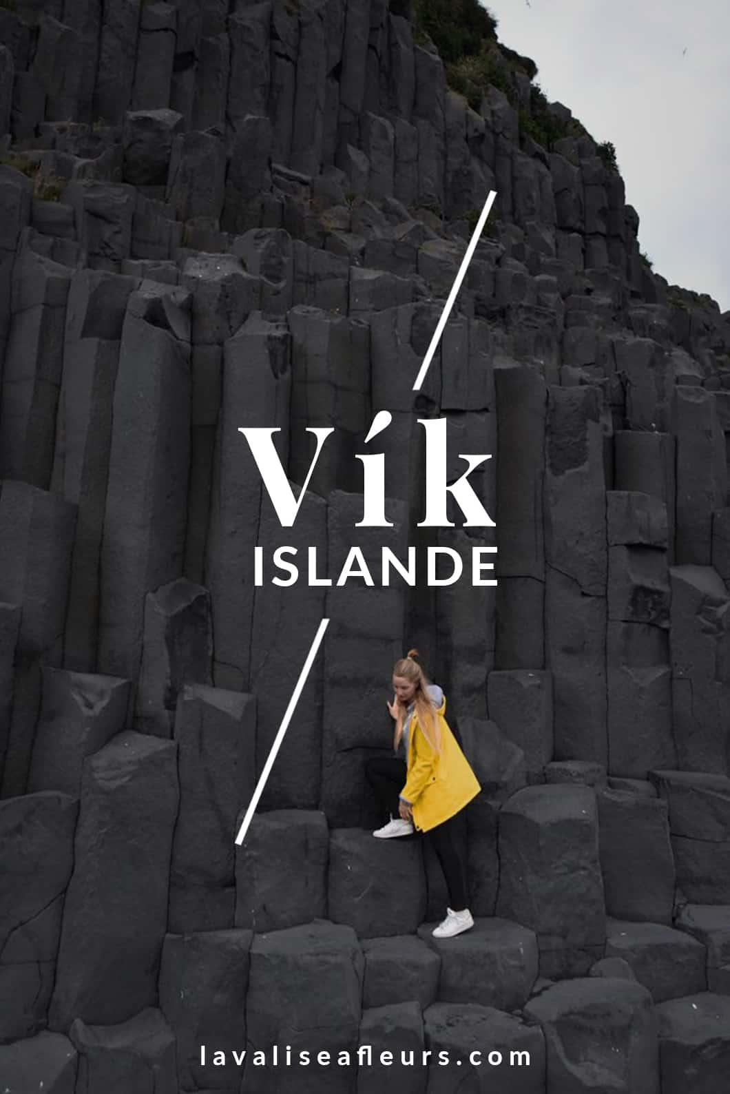 Road trip en Islande, visiter Vik dans le sud de l'Islande