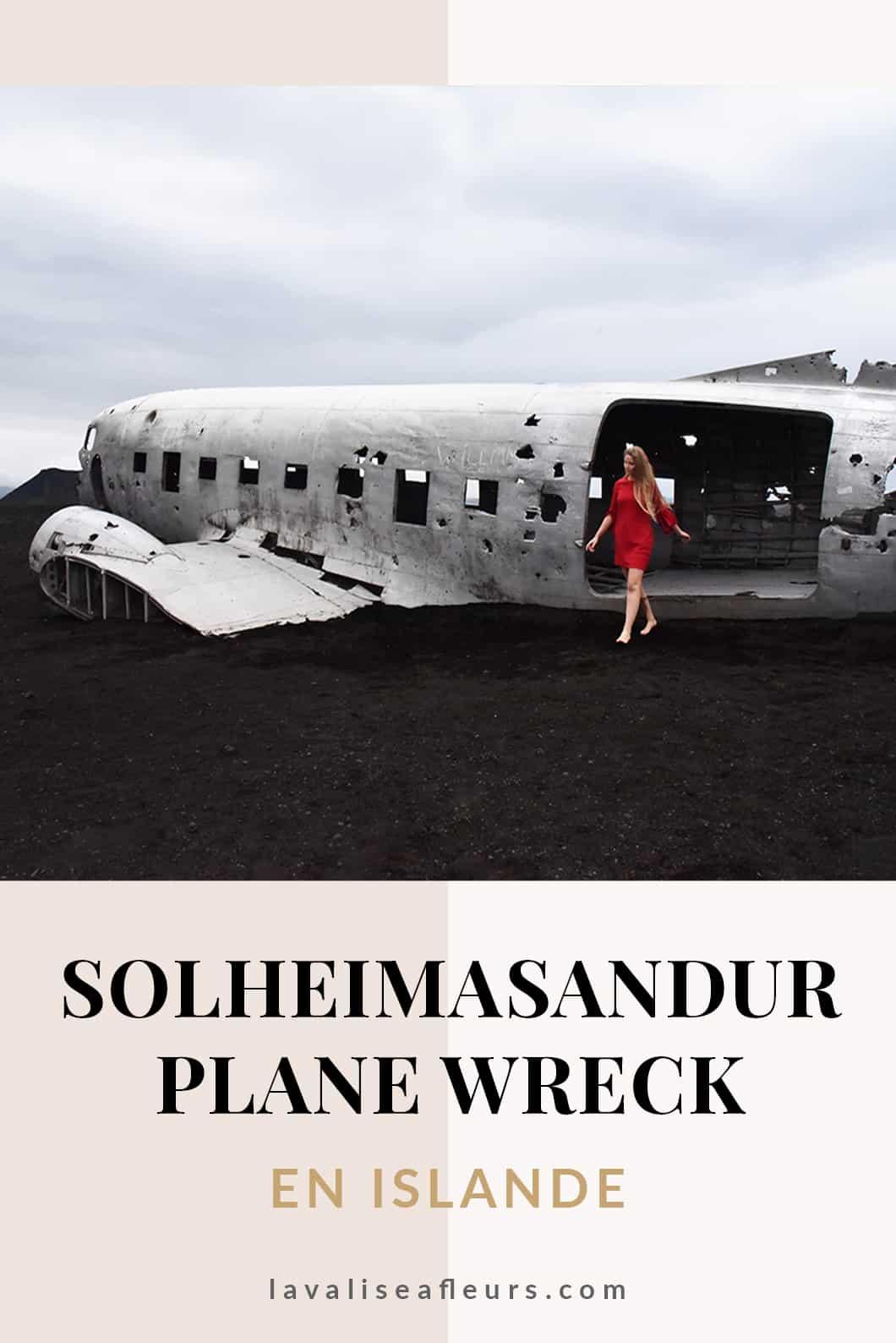 Solheimasandur Plane Wreck, avion abandonné en Islande
