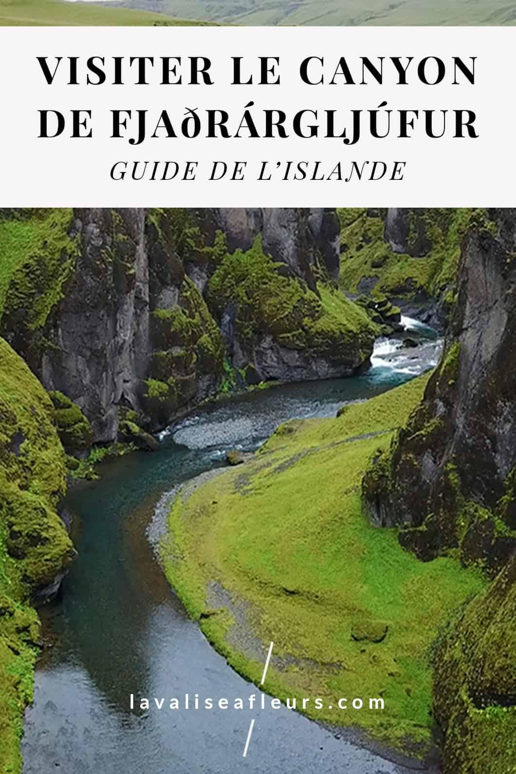 Visiter le Canyon de Fjaðrárgljúfur, voyage en Islande
