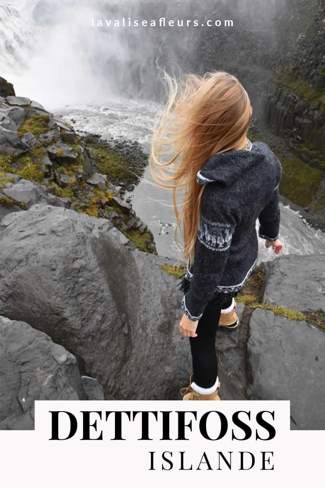 Cascade de Dettifoss, l'une des plus belles cascade en Islande