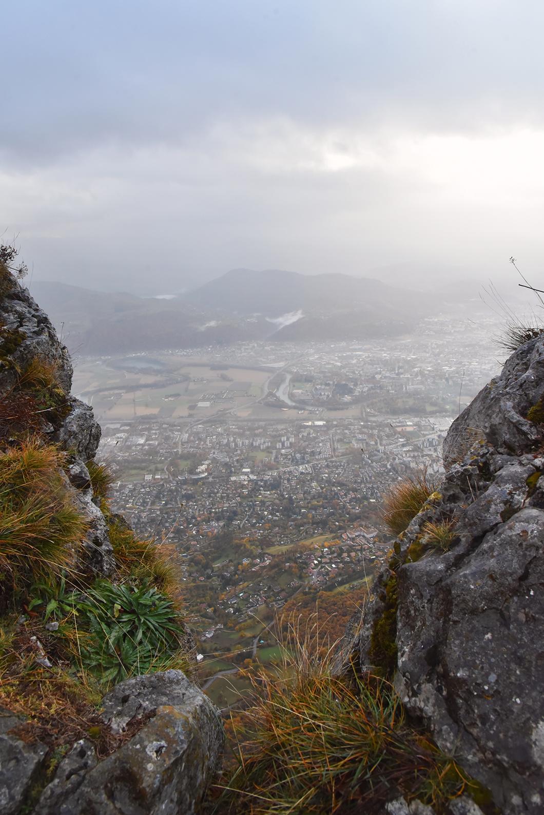 Vue sur Grenoble - Fort du Saint-Eynard