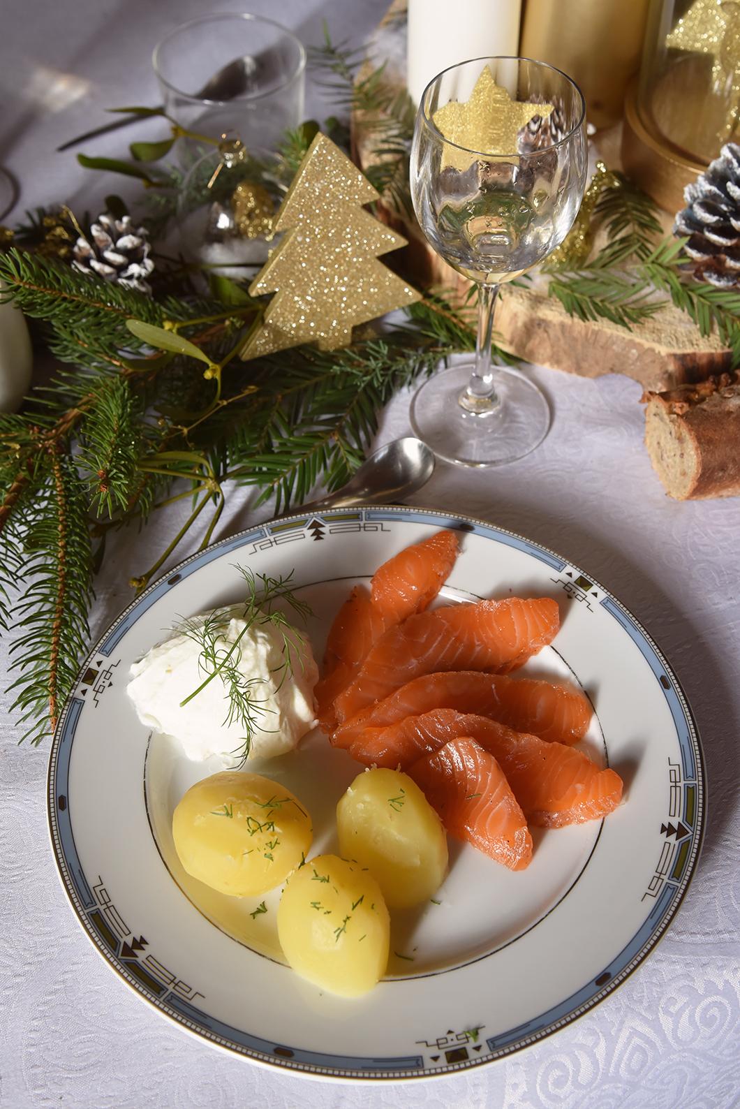 Repas Noël à la montagne