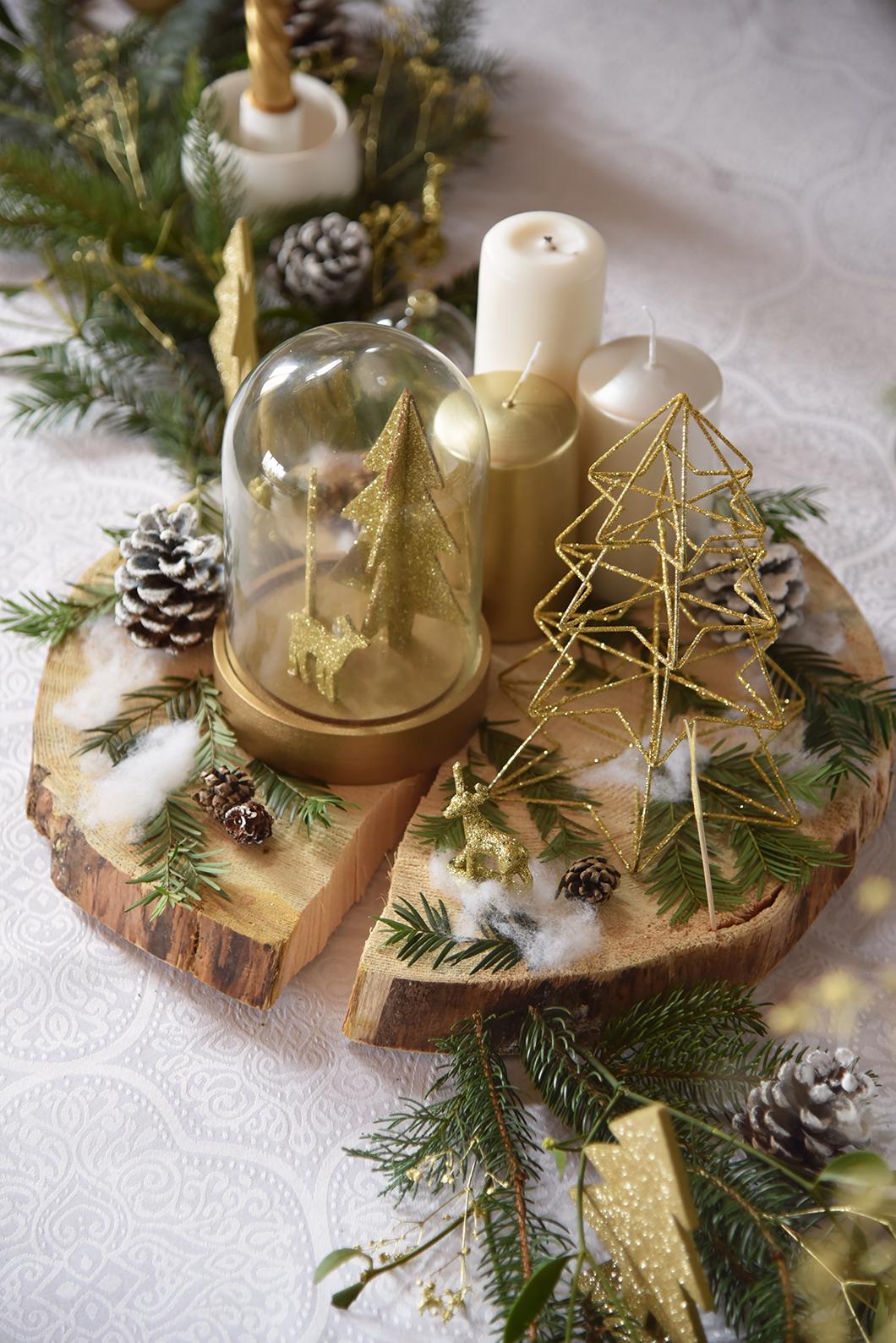 Décorations Noël à la montagne