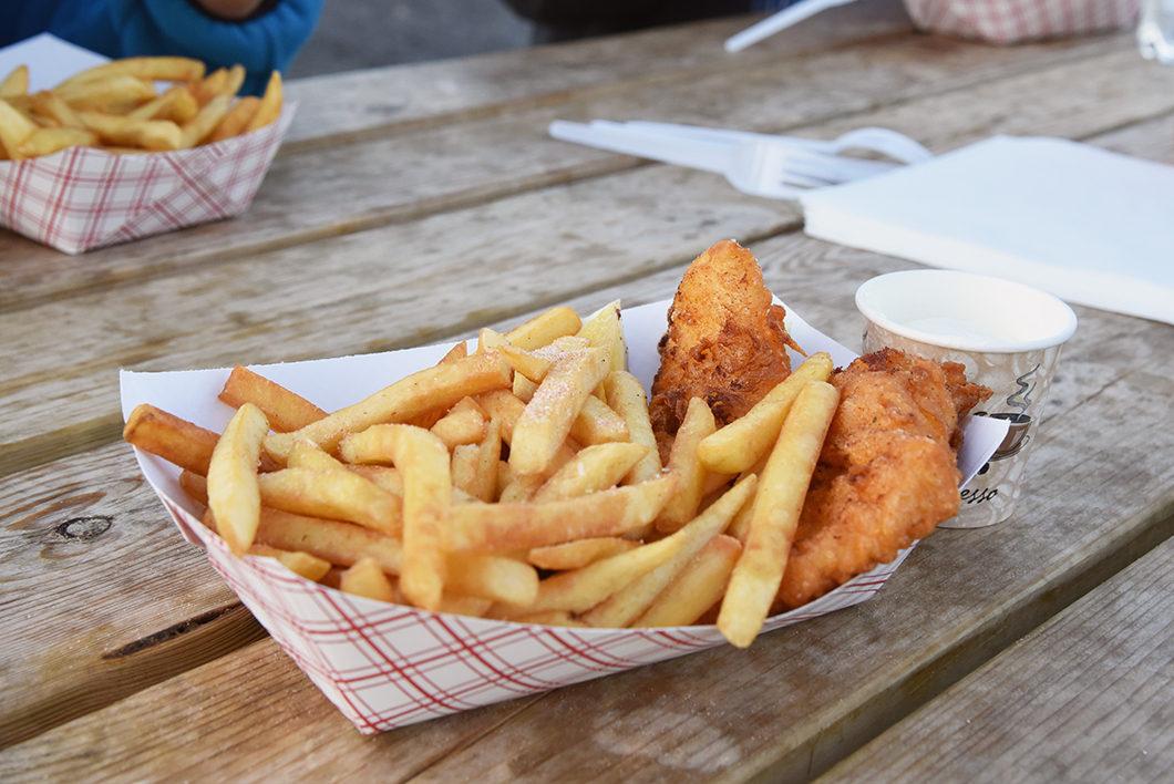 Fish and chips - Arnarstapi