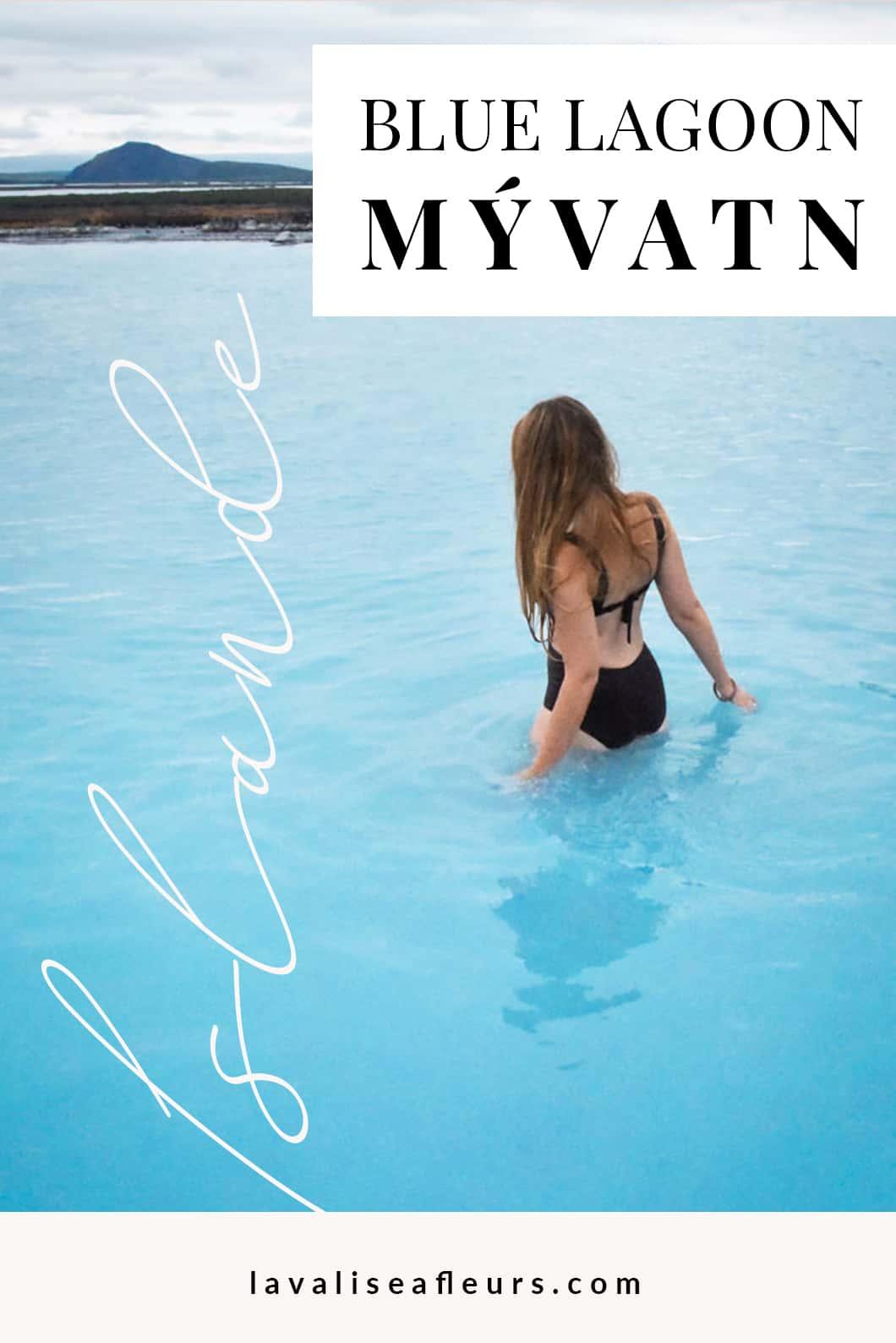 Se baigner dans les bains de Myvatn en Islande