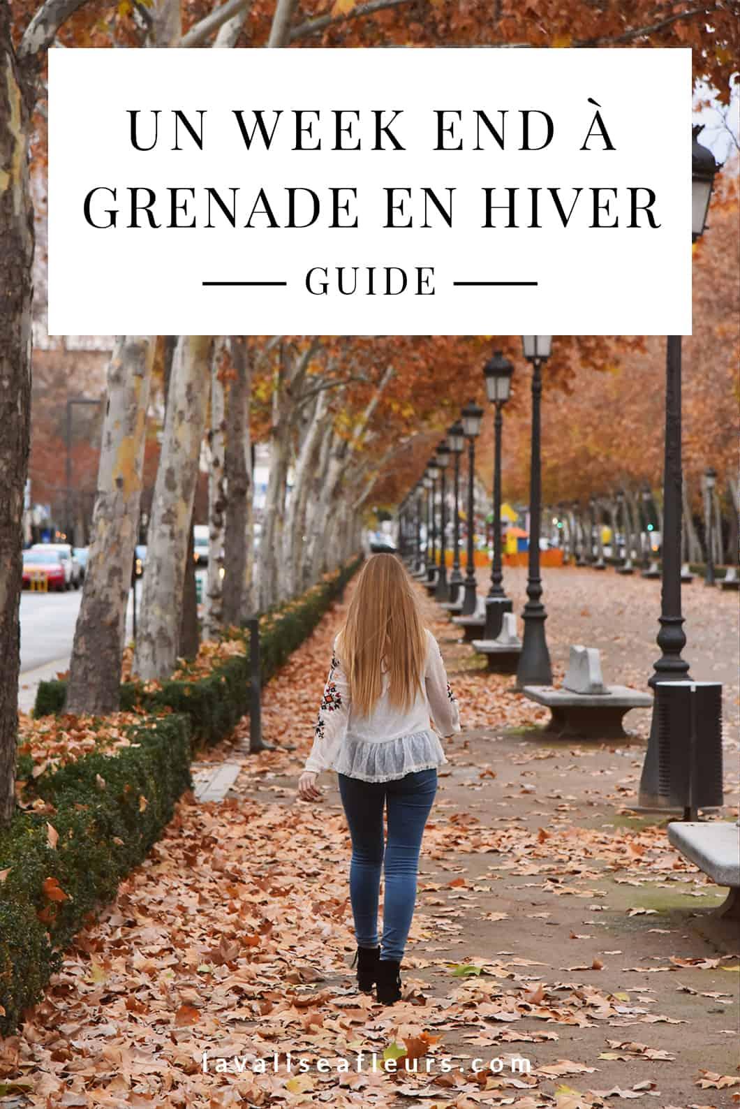 Guide d'un week end à Grenade