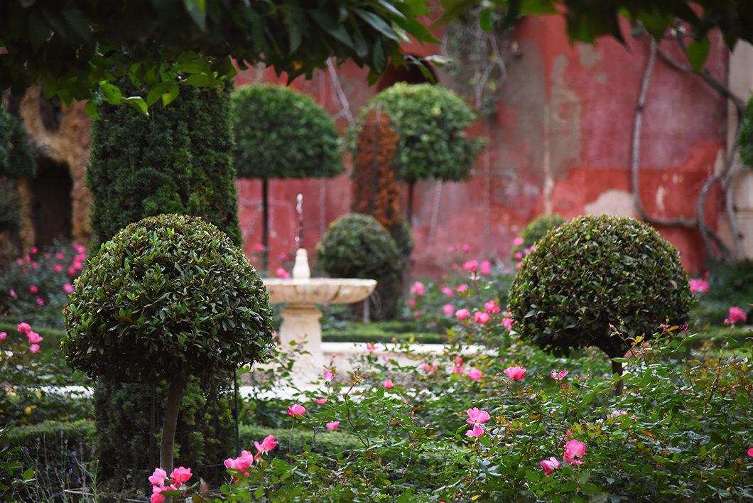 Les jardins de la Casa de Pilatos à Séville