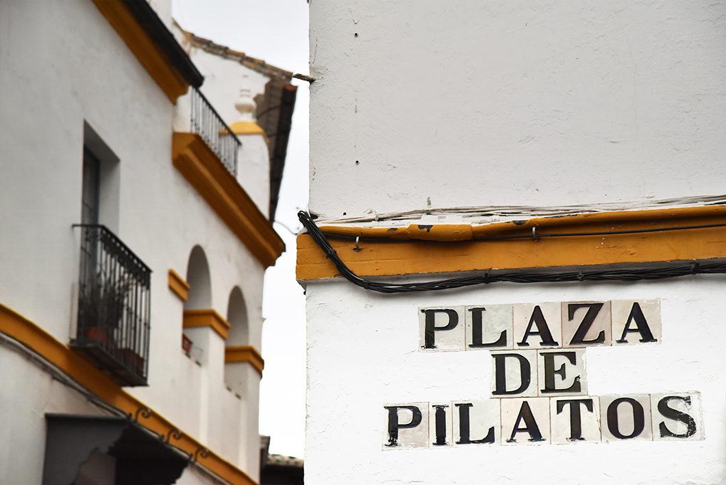 La Plaza de Pilatos