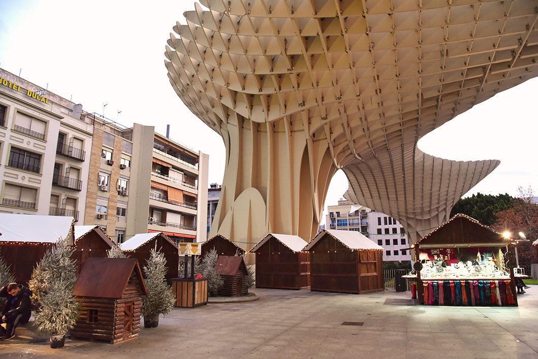 Visiter Séville en Espagne et le Metropol Parasol