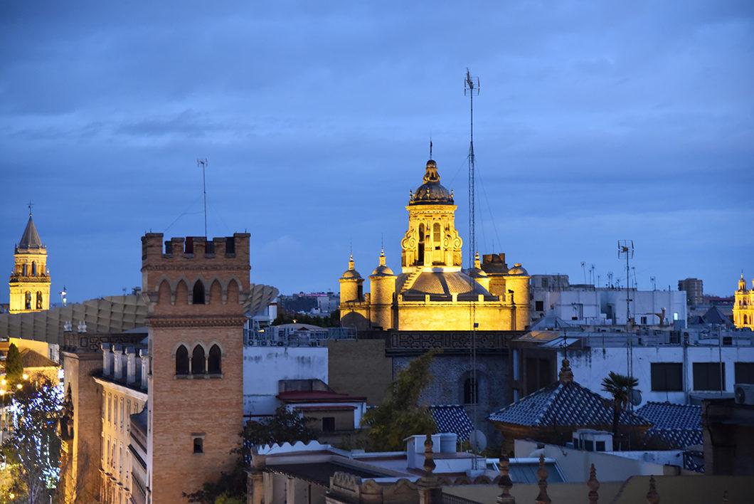 Séville et notre airbnb pour le nouvel an