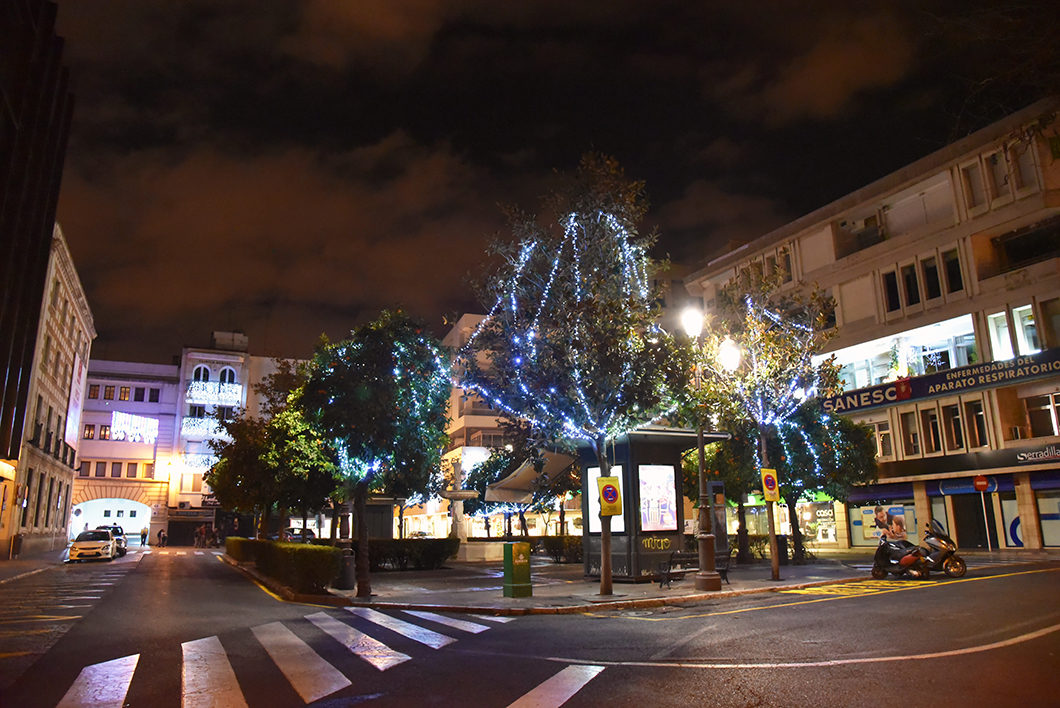 Illuminations de Noël à Séville