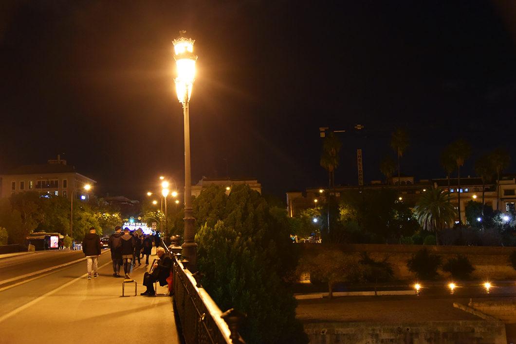 Balade nocturne à Séville