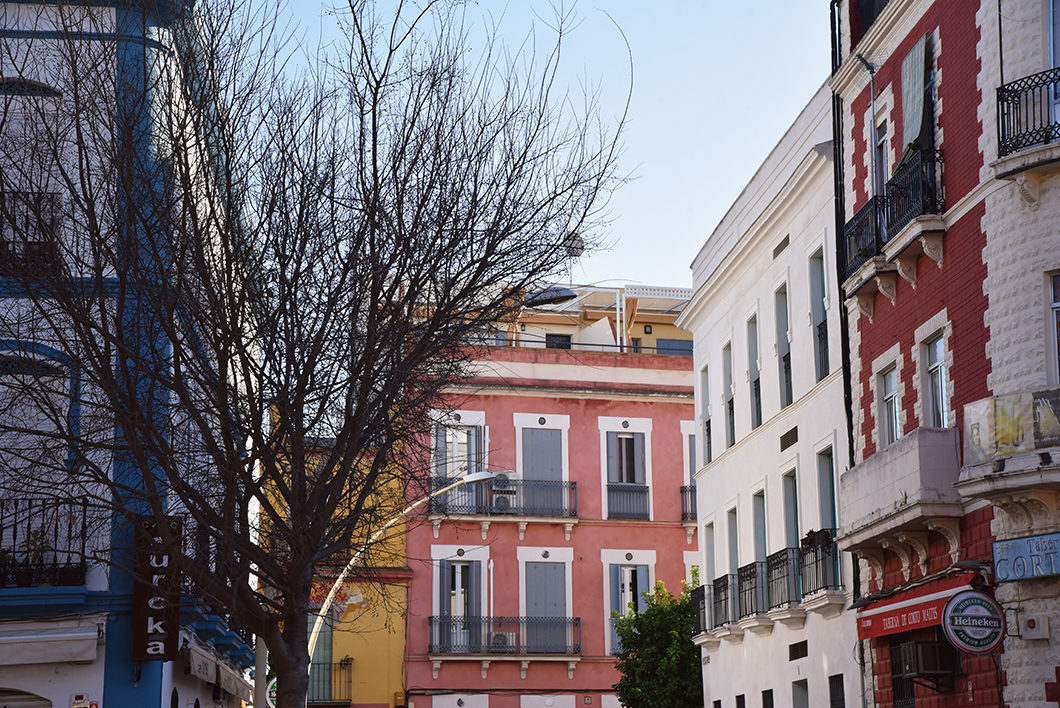 Guide de Séville, visiter la Promenade d'Hercule