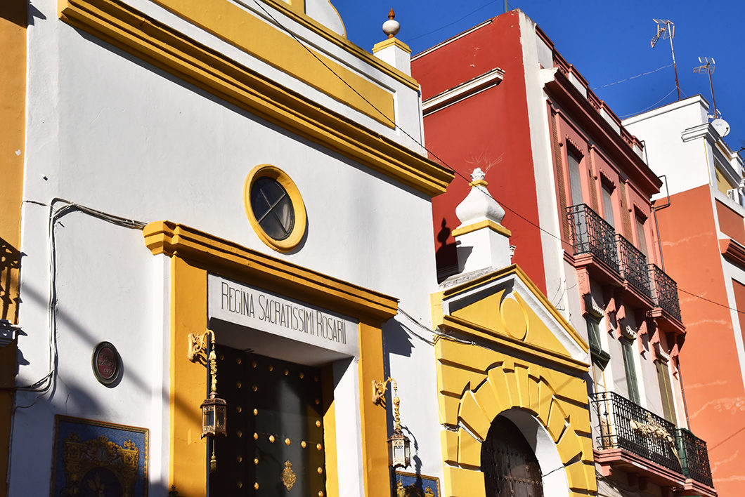Se promener dans Séville en hvier