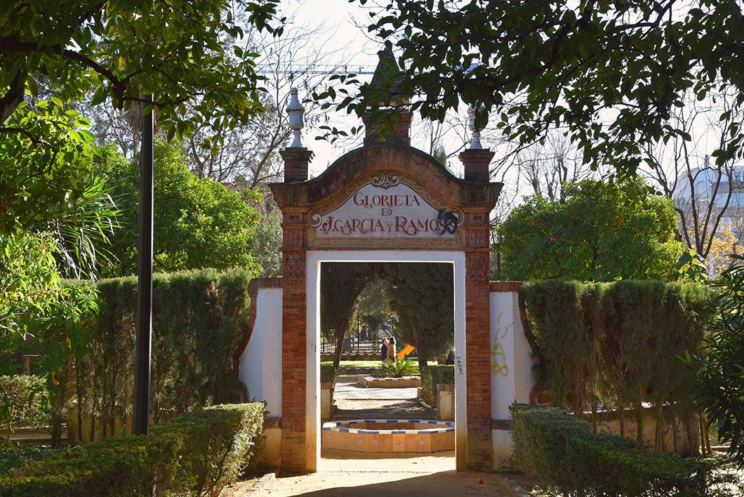 Nos endroits coups de coeur à Séville, le Jardin Murillo