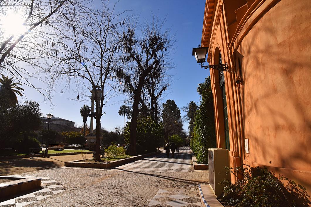 Jardin Murillo à Séville