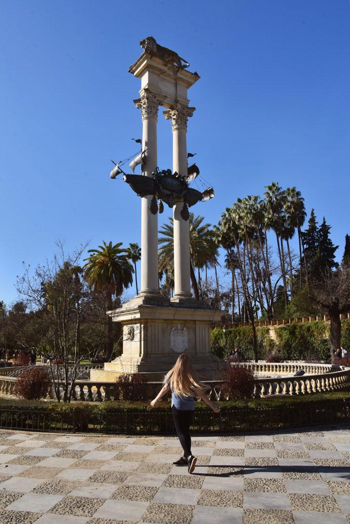 Visiter Séville en Espagne et le Jardin Murillo