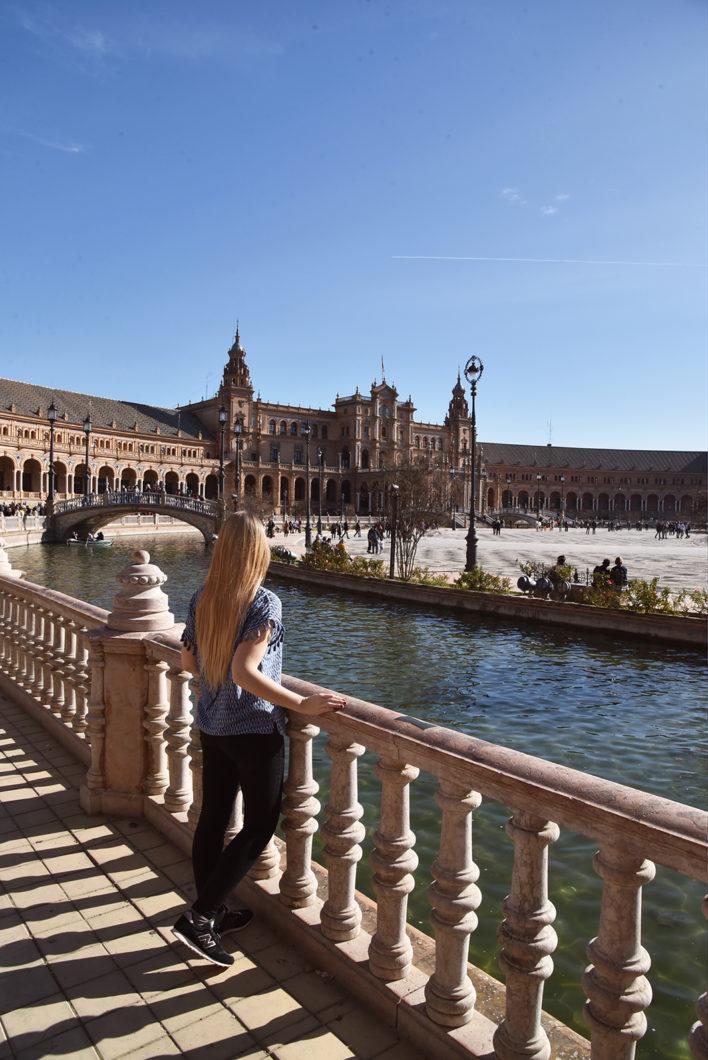 Que faire à Séville en Espagne ? La place d'Espagne