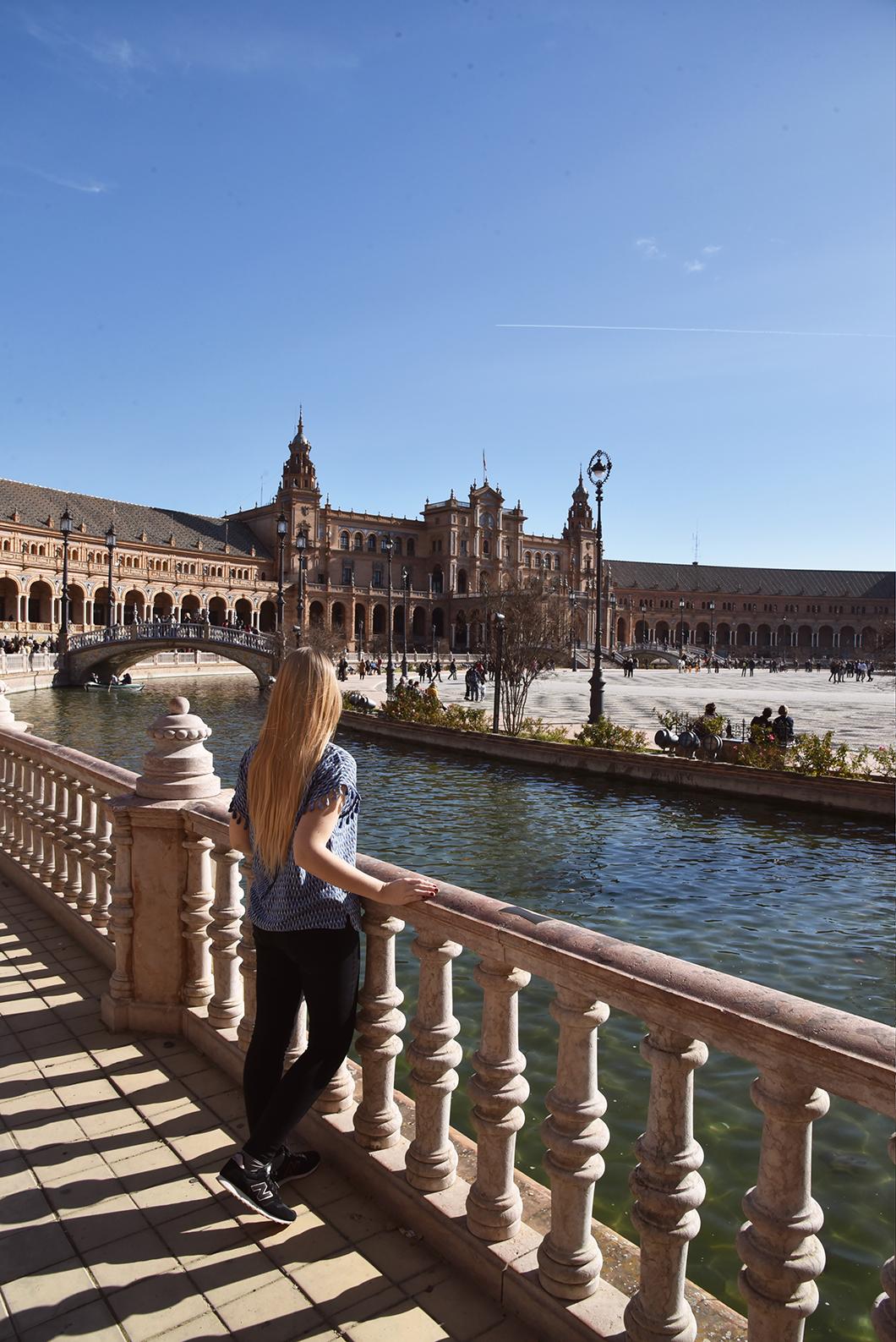 Visiter la Plaza de España à Séville