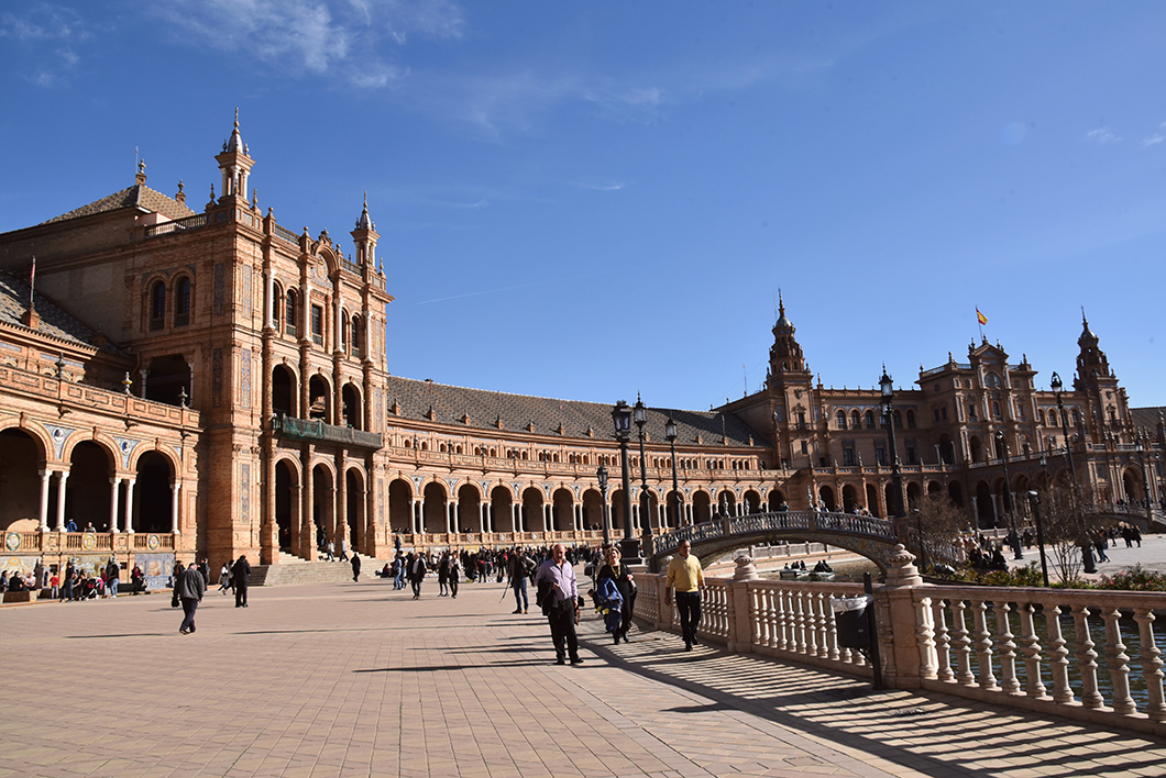 Plaza de España à Séville