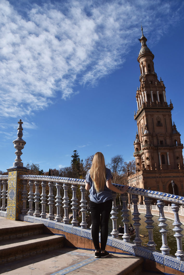 Ponts sur la Plaza de España