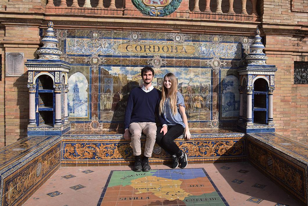 Visite de la place d'Espagne, visite incontournable à Séville