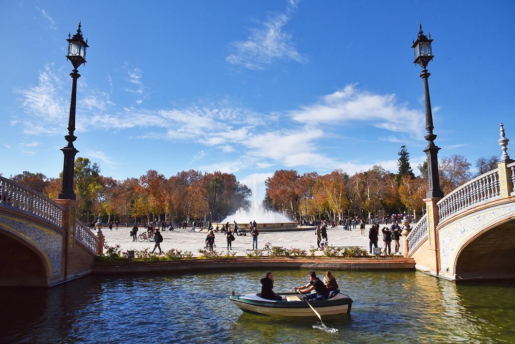 Plaza de España - Visiter Séville