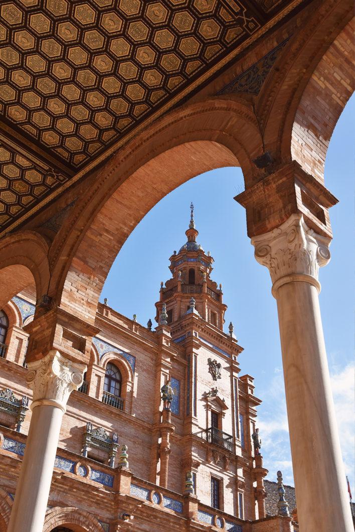 Architecture de la Plaza de España