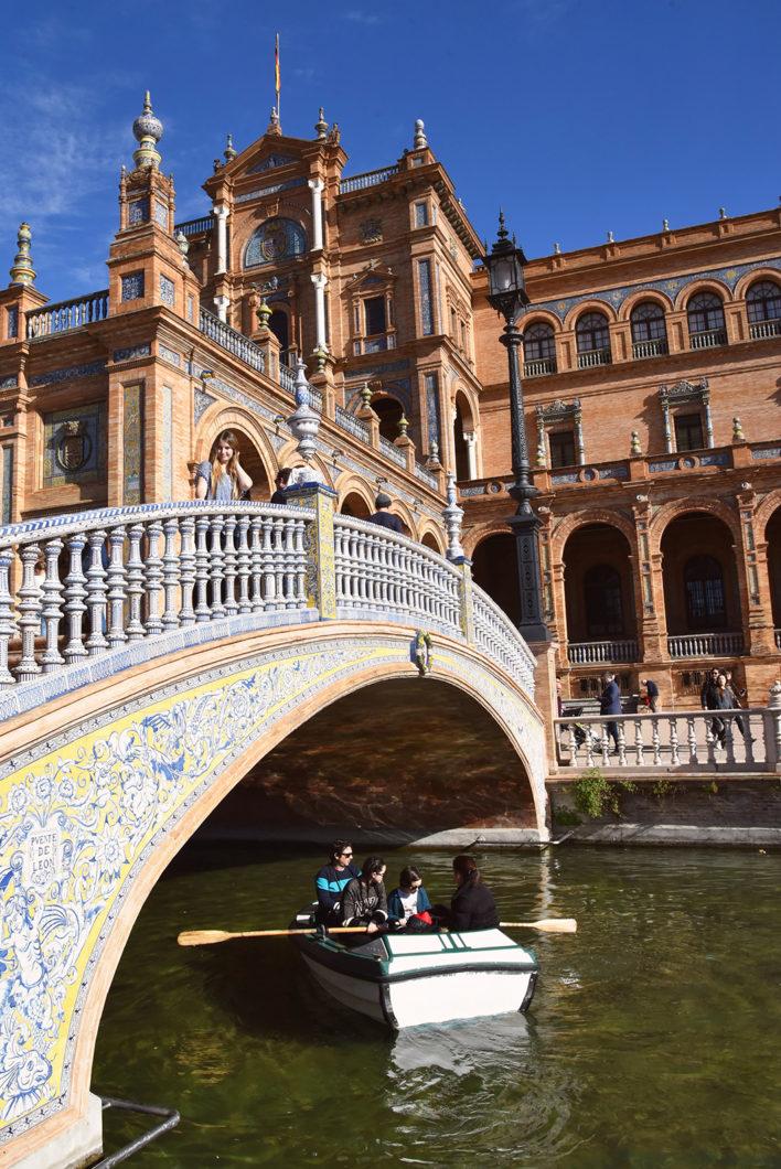 Visiter la place d'Espagne, un week end à Séville