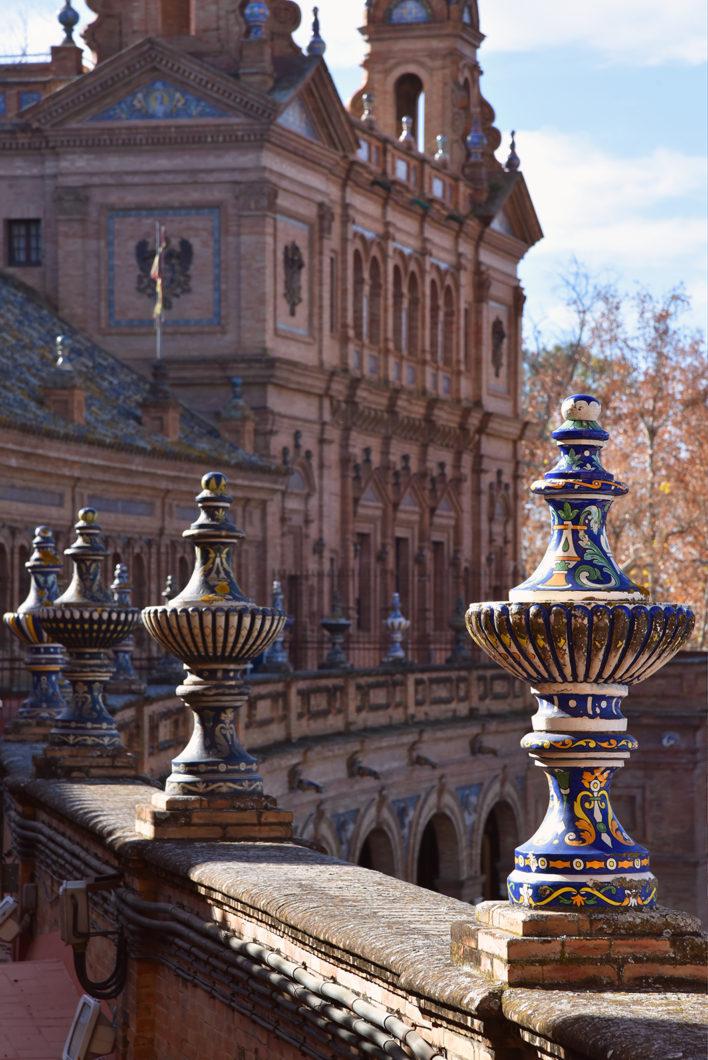 Visiter Séville en Espagne et la place d'Espagne