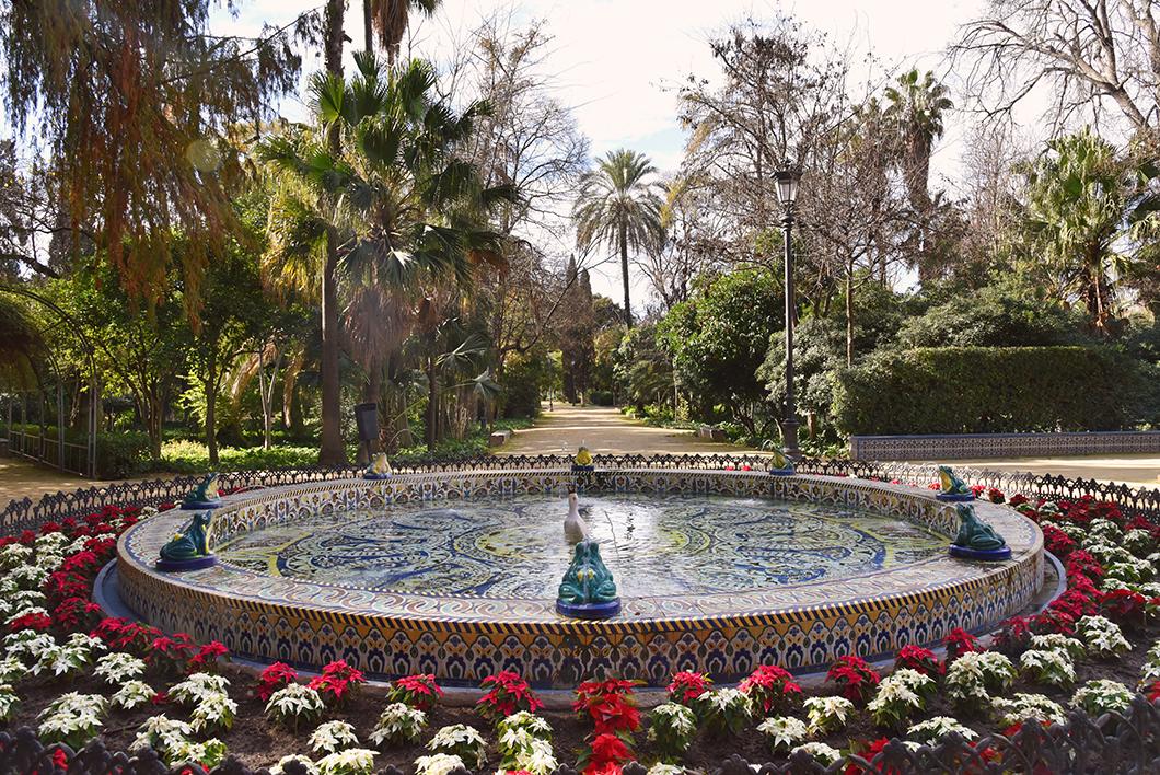 Parc Maria Luisa à Séville