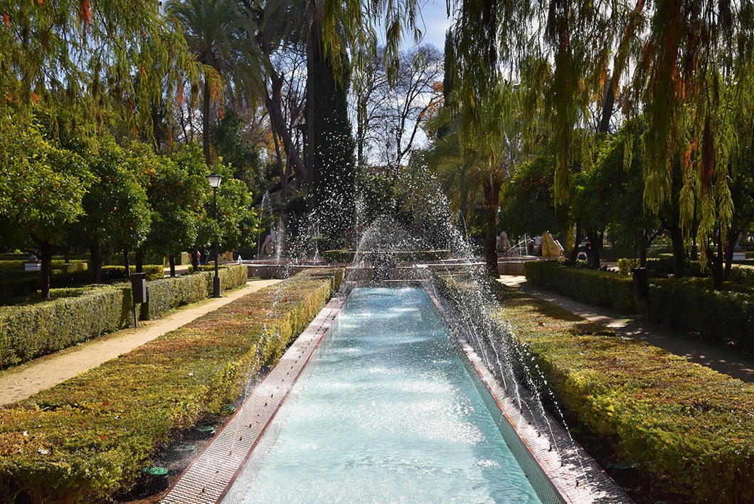 Balade dans le Parc Maria Luisa