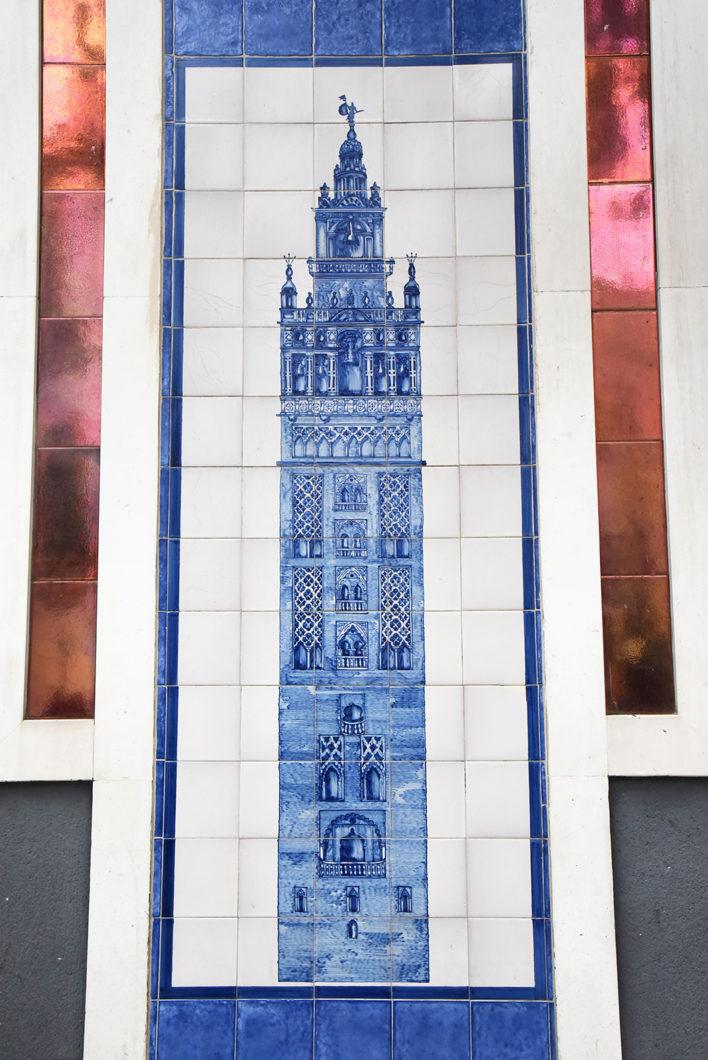 Séville et ses décorations murales