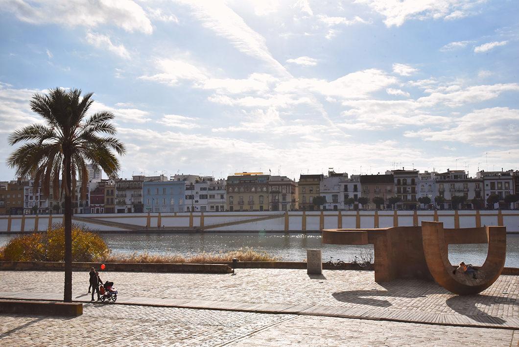 Visiter les quais de Séville en hiver