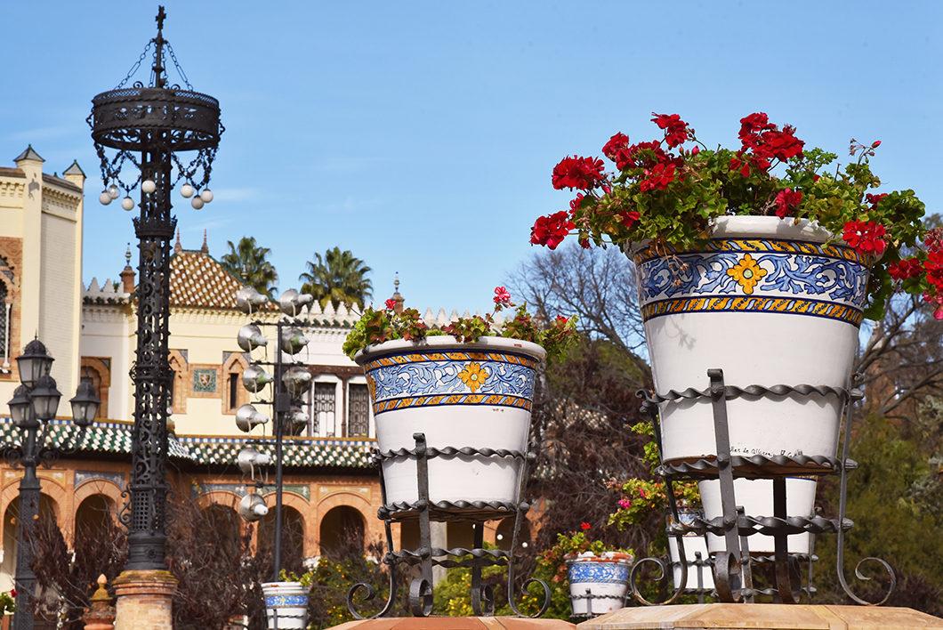 Visite du Parc Maria Luisa en Andalousie