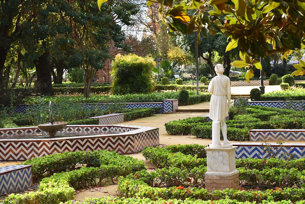 Parc Maria Luisa - Passer le nouvel an à Séville