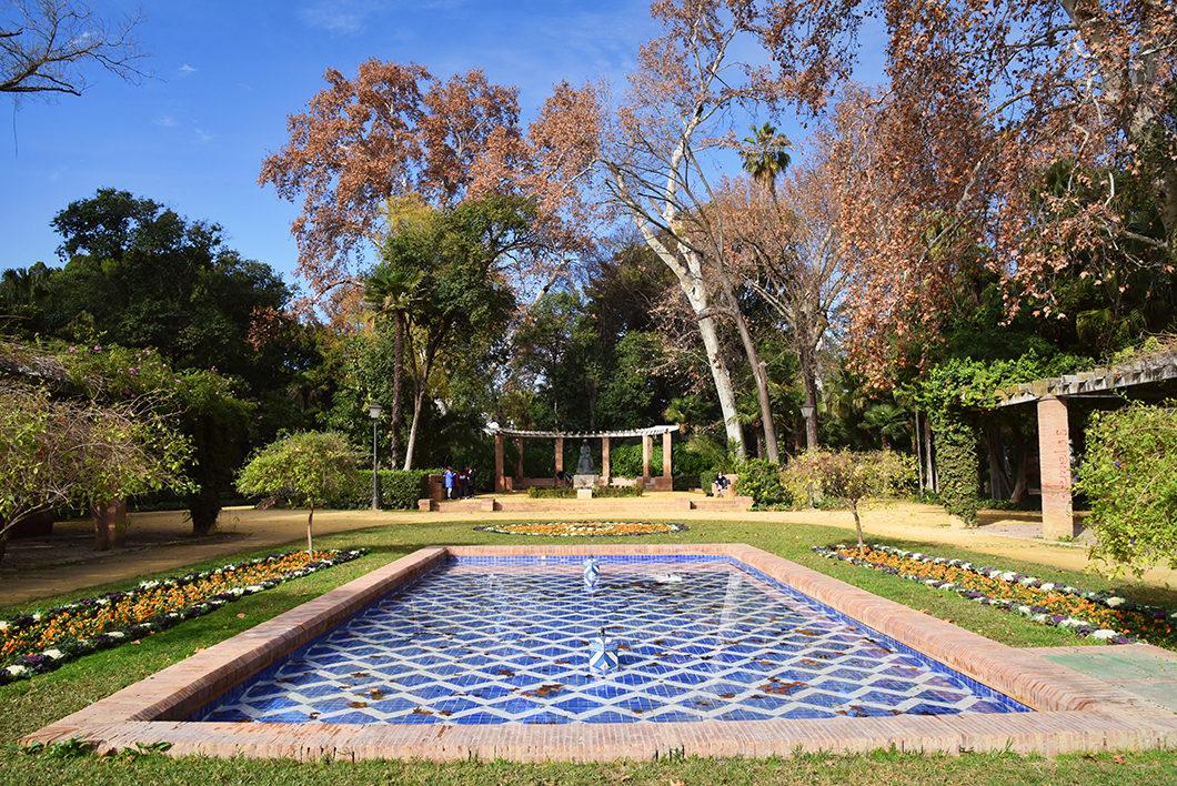Guide de Séville, visiter le Parc Maria Luisa