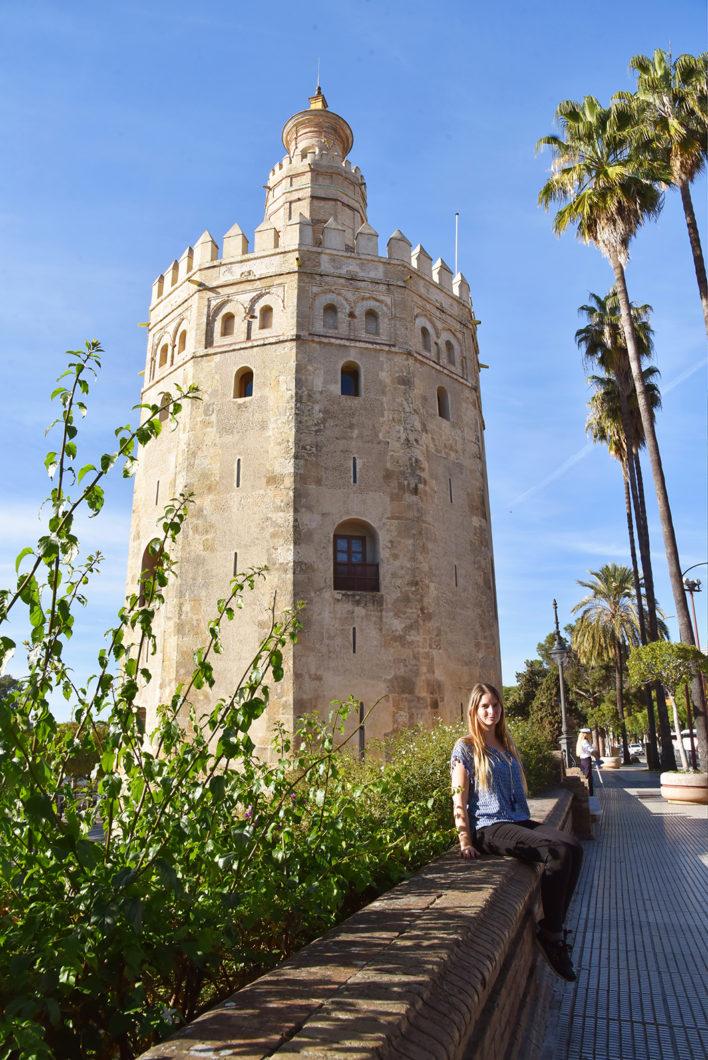 La Torre del Oro, endroits incontournables à Séville en Espagne