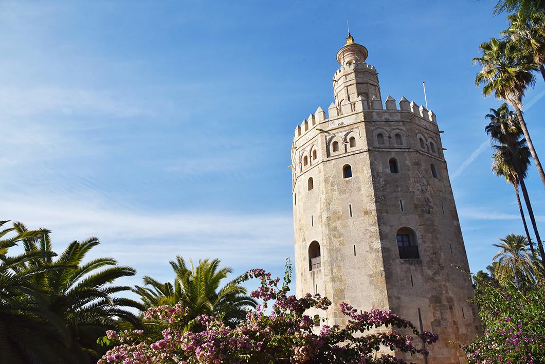 Torre del Oro à Séville