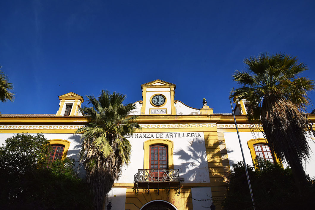 Les bâtiments de Séville