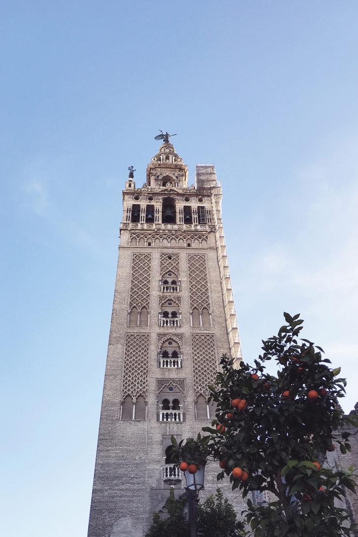 Guide de Séville, visiter la Giralda