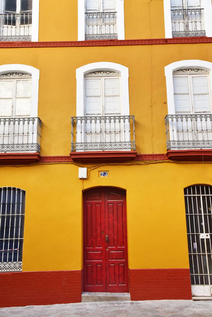 Les rues colorées de Séville